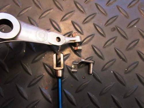 Brake Pedal, Brake Rod End and Brake Rod Link Pin
