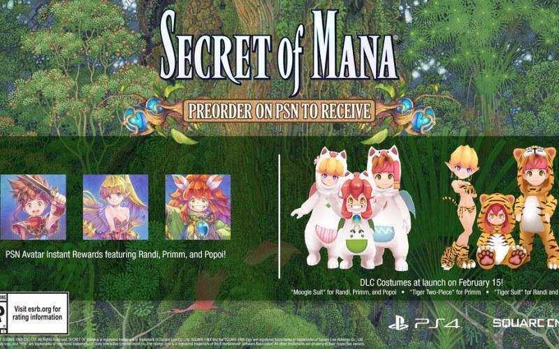 secret of mana, Secret of Mana: Annunciato il remake per PS4 e PS Vita