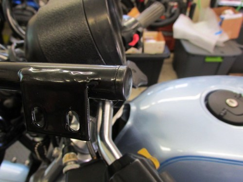 Top Fairing Bracket Plug Installed