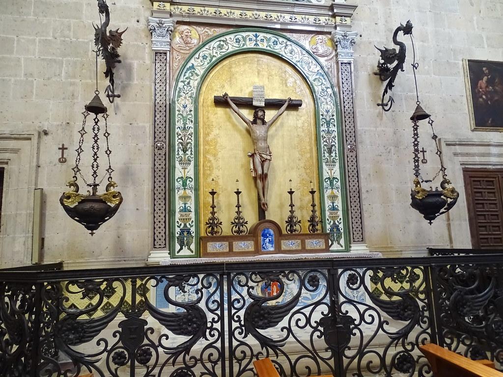 Segovia Capilla del Santísimo Sacramento Catedral de Nuestra Señora de la Asunción y de San Frutos 06