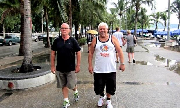 Pattaya Beach Road morning Ballet