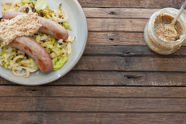 Magic Sausage & Cabbage Supper