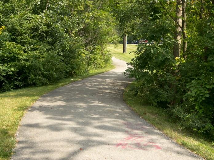 Michigan Road trail