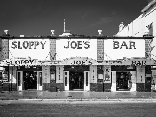 Key West Street Scenes: Sloppy Joe's Bar