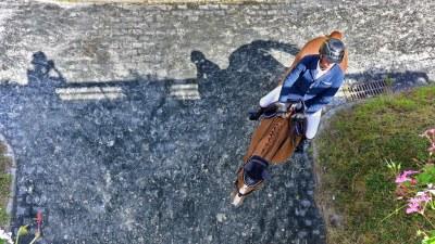 Le photographe et le cavalier