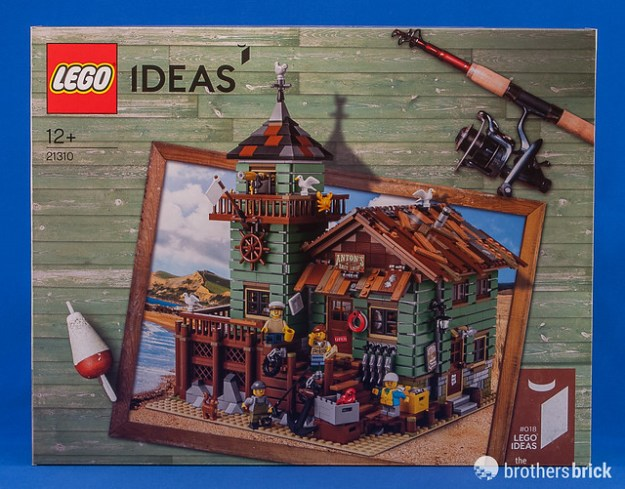 Lego ideas 21310 old fishing store review the brothers for Lego old fishing store