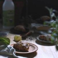 summer kefir scones - 2 ways