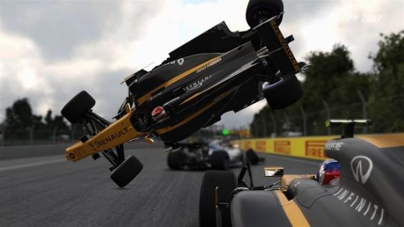 F1 2017 Crash