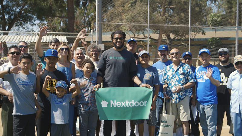 Nextdoor & Kenley Jansen honor L.A. Neighborhood All-Stars