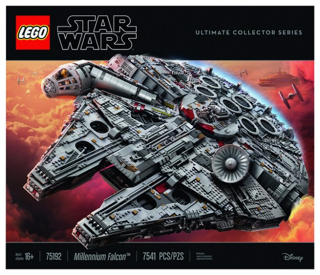 New LEGO Star Wars 75192 UCS Millennium Falcon unveiled as largest ...