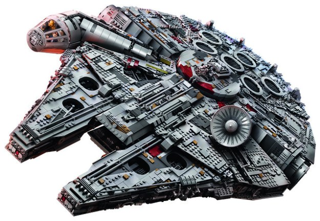 new lego star wars 75192 ucs millennium falcon unveiled as largest