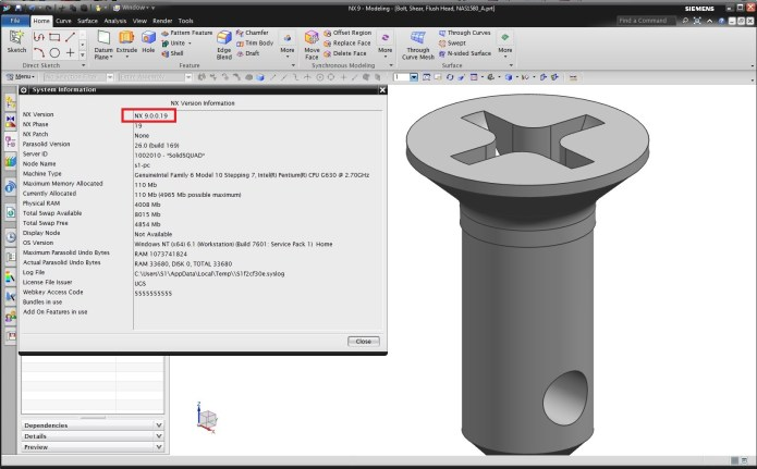 Thiết kế với Phần Mềm Siemens NX Ungraphic 9.0