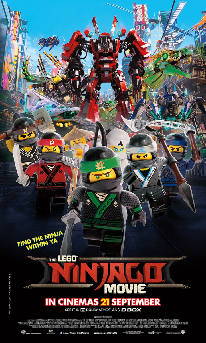 Peraduan Premiere With Budiey Filem THE LEGO® NINJAGO® MOVIE
