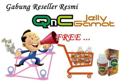 Cara Menjadi Reseller Resmi QnC Jelly Gamat Gratis