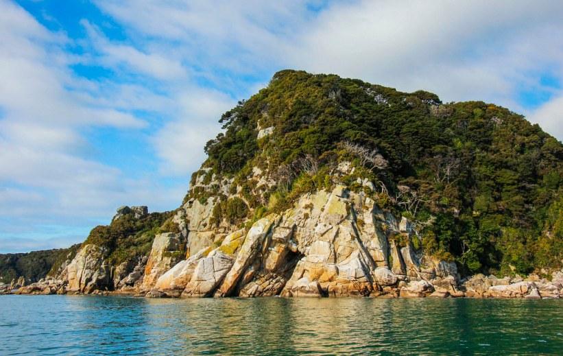 Cruise i Abel Tasman National Park, New Zealand