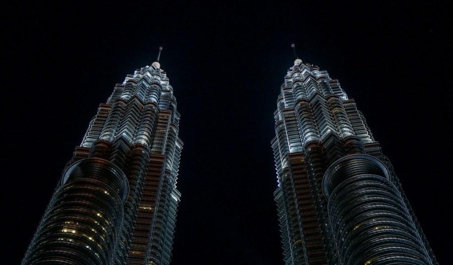 Petronas Tower at night (1 of 3)