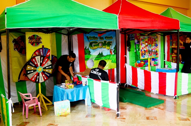 game booths