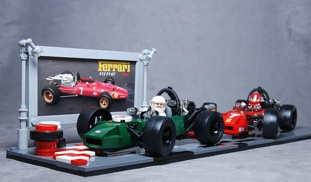 Ferrari 312 vs. Brabham BT24