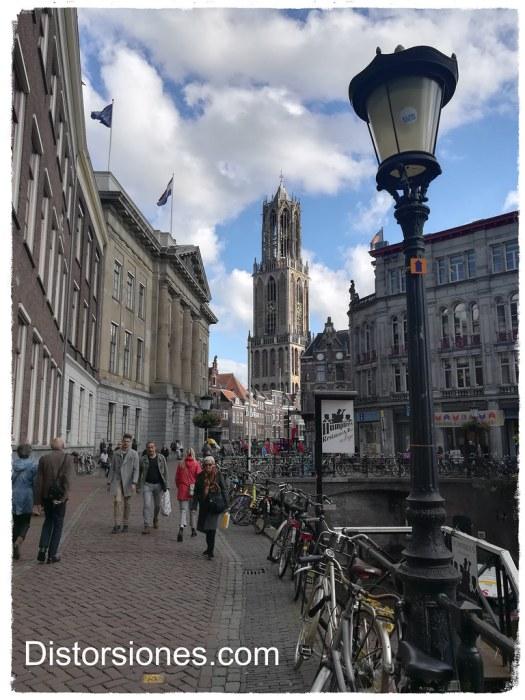 Domtoren y Stadhuis en Utrecht
