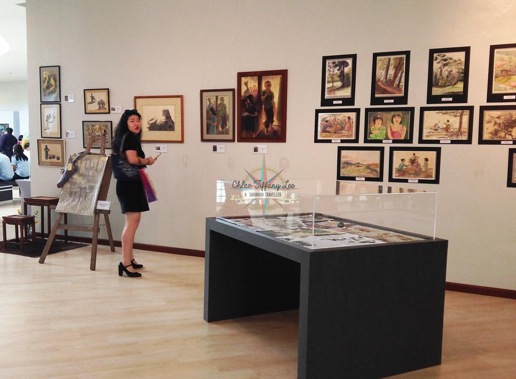 Retrospective Exhibition Remembering Tina Rimmer 1917-2017, Sabah Art Gallery, Kota Kinabalu, Chloe Tiffany Lee (6)