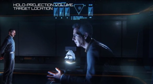 Star Citizen - Holo-Projection Demonstration