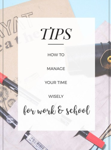 Tips on Time Management