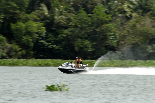 Jetski at Aquascape Lake Caliraya