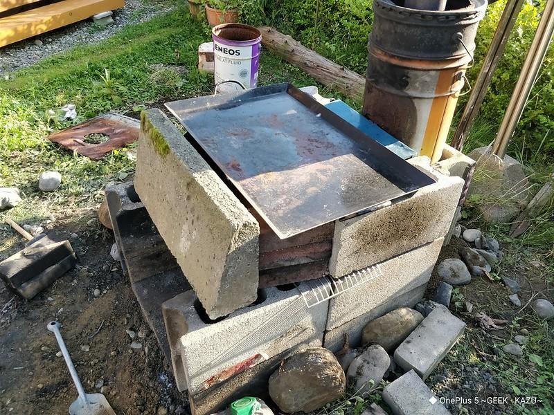 DIY 自作 バーベキューコンロ18