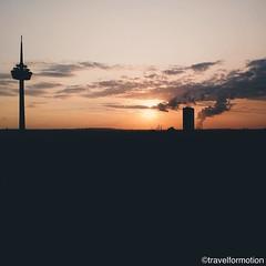 #sunset 20/8 #visitkoeln #urbanCGN #cologne #thisiscologne #koelnergram #köln #ig_cologne #ig_germany #germany #vsco #vscocam #guardiantravelsnaps #guardiancities #wanderlust #travel #koelnergram #instaköln #travelsde #aerialphotography #landscape #colour