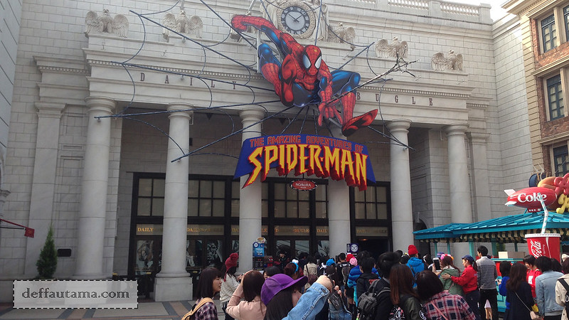 2 Hari Keliling Osaka - The Amazing Spiderman The Ride