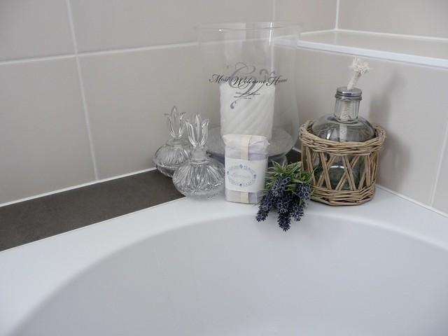 Kaarsen zeep badrand