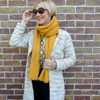 Outfit of the week: A summer cardigan or an autumn coat...