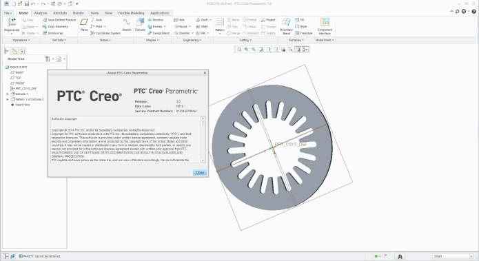 Thiết kế trên Phần mềm PTC Creo 3.0 full