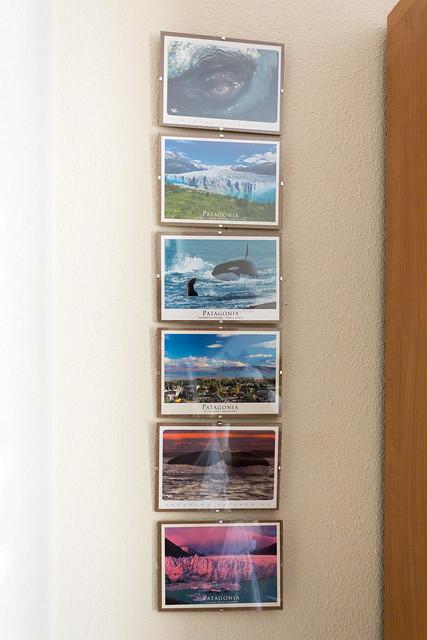 Postales que compré en Argentina