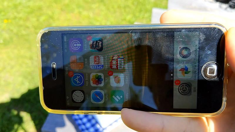 iphone 5 画面の見やすさ