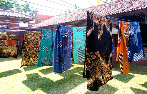 Penjemuran batik