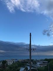 台風が去って