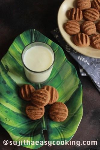 Jackfruit Flour Cookies
