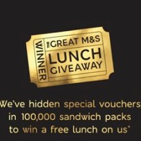 Marks & Spencer's Great Lunch Giveaway | Free Lunch to Win Every 12 Seconds | #mandsfreelunch