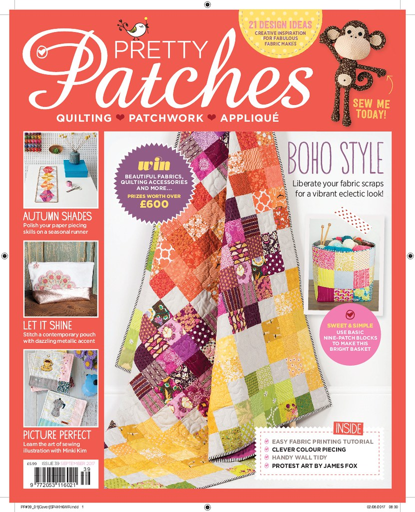 Autumn Irish Chain (Pretty Patches Sept17)