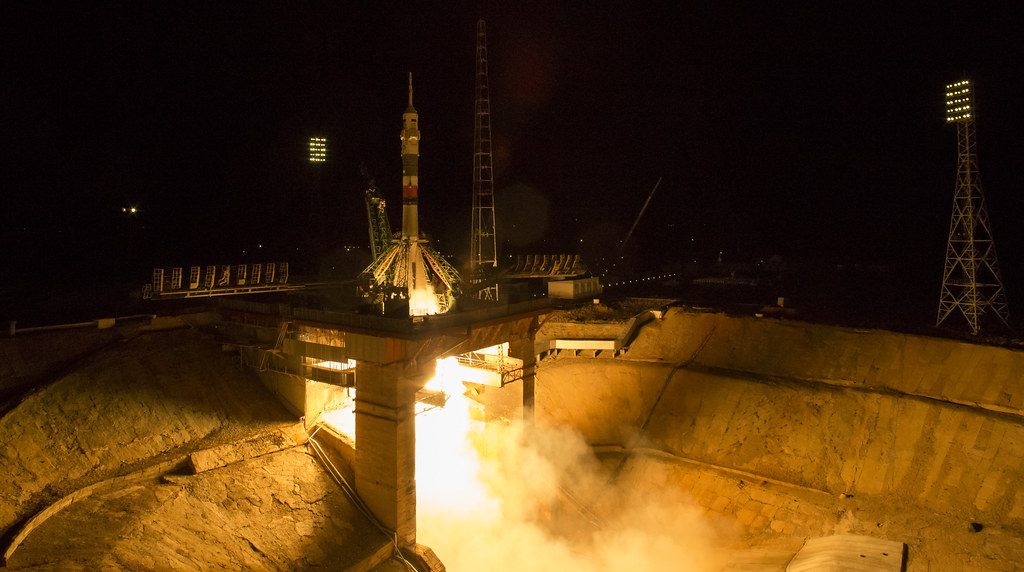 Expedition 53 Soyuz Launch (NHQ201709130003)