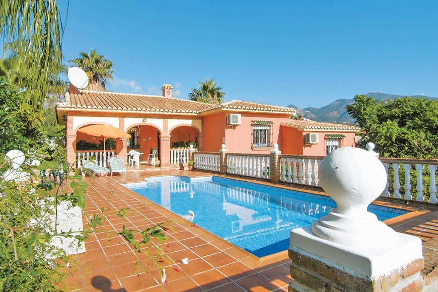 A villa for rent in Mijas Pueblo