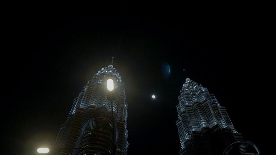 Petronas Tower at night (2 of 3)