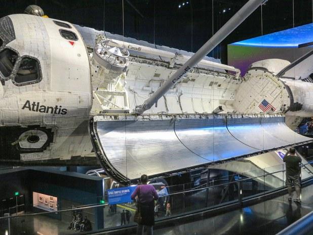 Lanzadera Atlantis en Kennedy Space Center