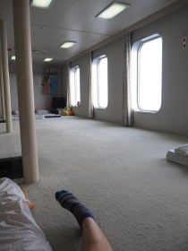 Osaka to Shanghai Ferry - Men's Dormitory