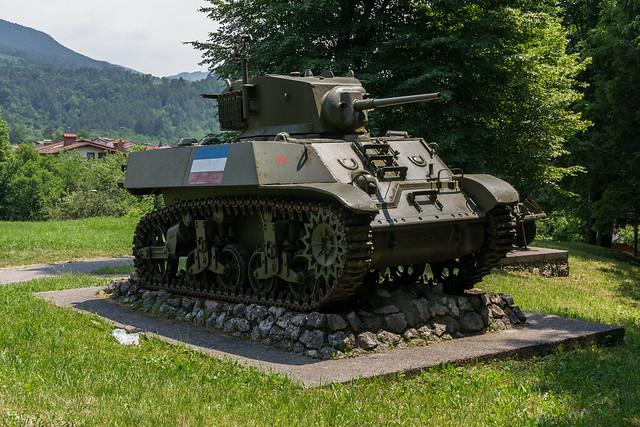 """M3A3 """"Stuart"""" Light Tank - Ilirska Bistrica"""