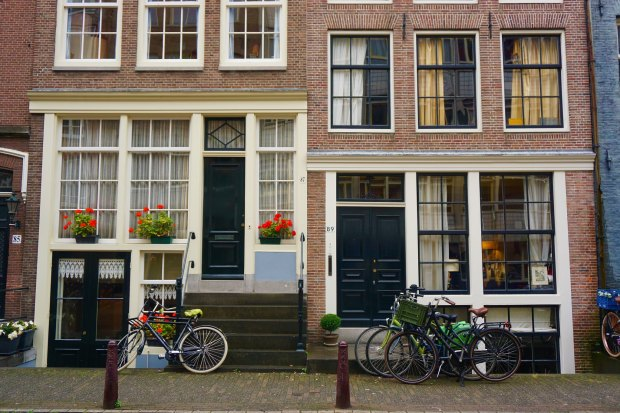 Amsterdam - Dutch traditional houses