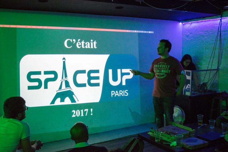 Mini SpaceUp Paris 2017