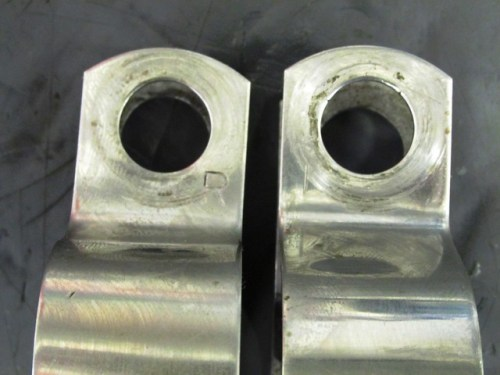 Original Header Pipe Brackets-Left (L) and Right (R) Bracket Are Difference