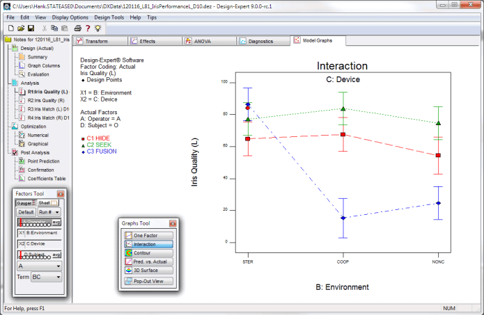 Working with Stat-Ease Design-Expert 10.0.7 full license